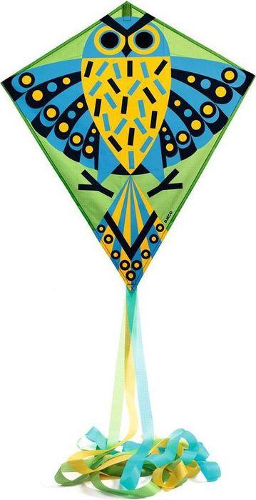 Djeco Воздушный змей Сова invento воздушный змей rookie rainbow