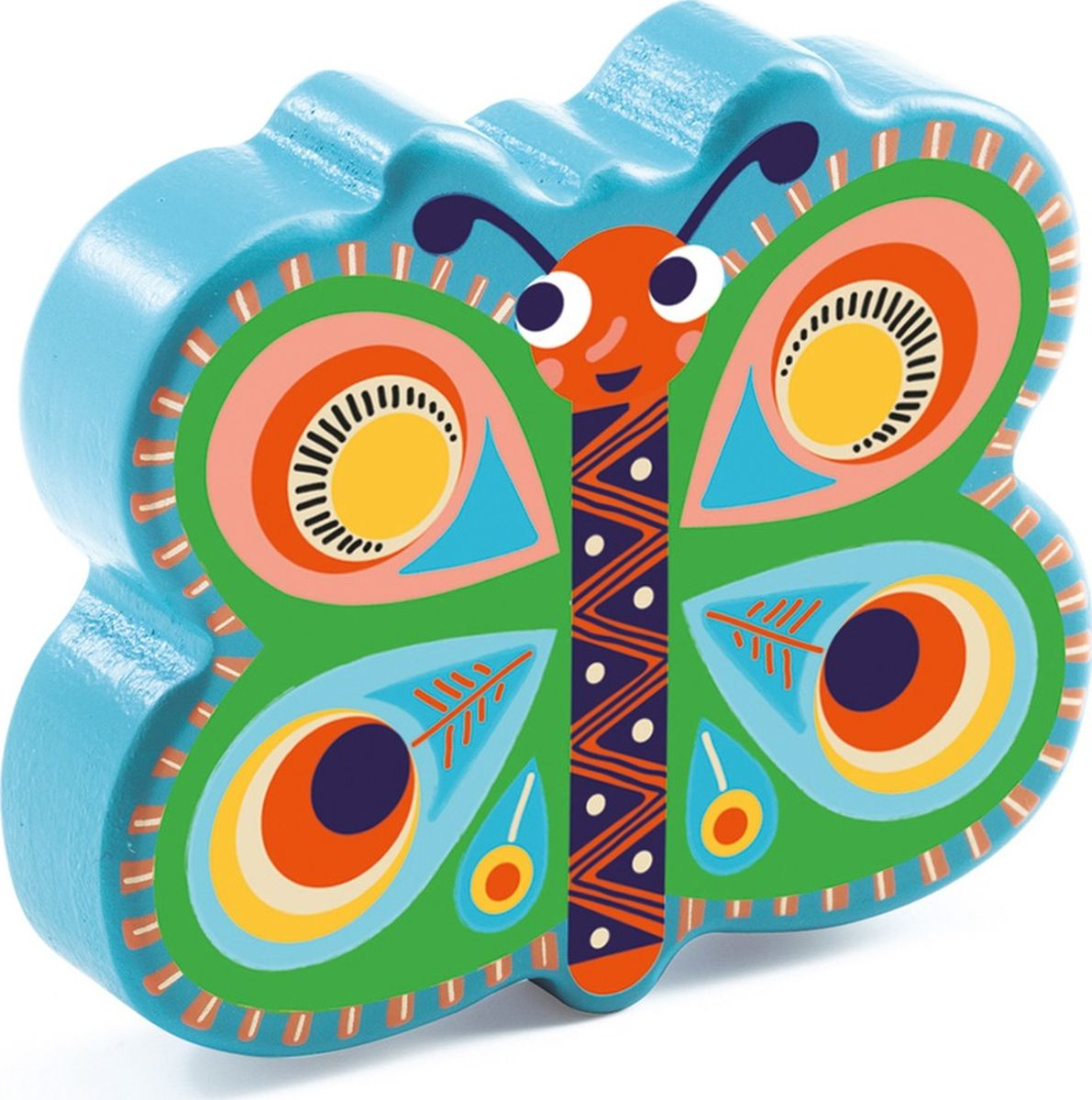 Djeco Музыкальная игрушка Маракас Бабочка все цены