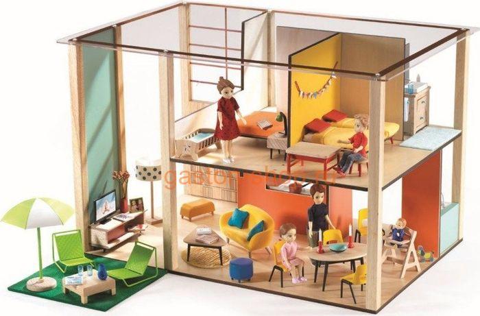 Djeco Дом для кукол Кубик