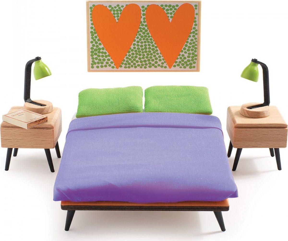 Djeco Мебель для кукол Спальня родителей