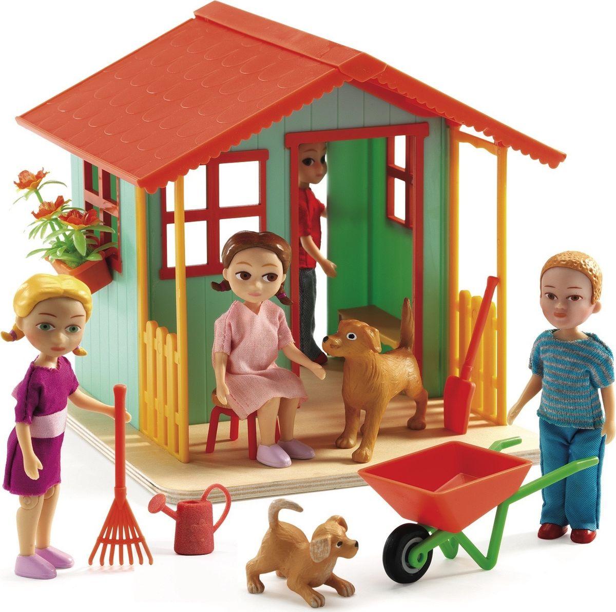 Djeco Дом для кукол Садовый домик