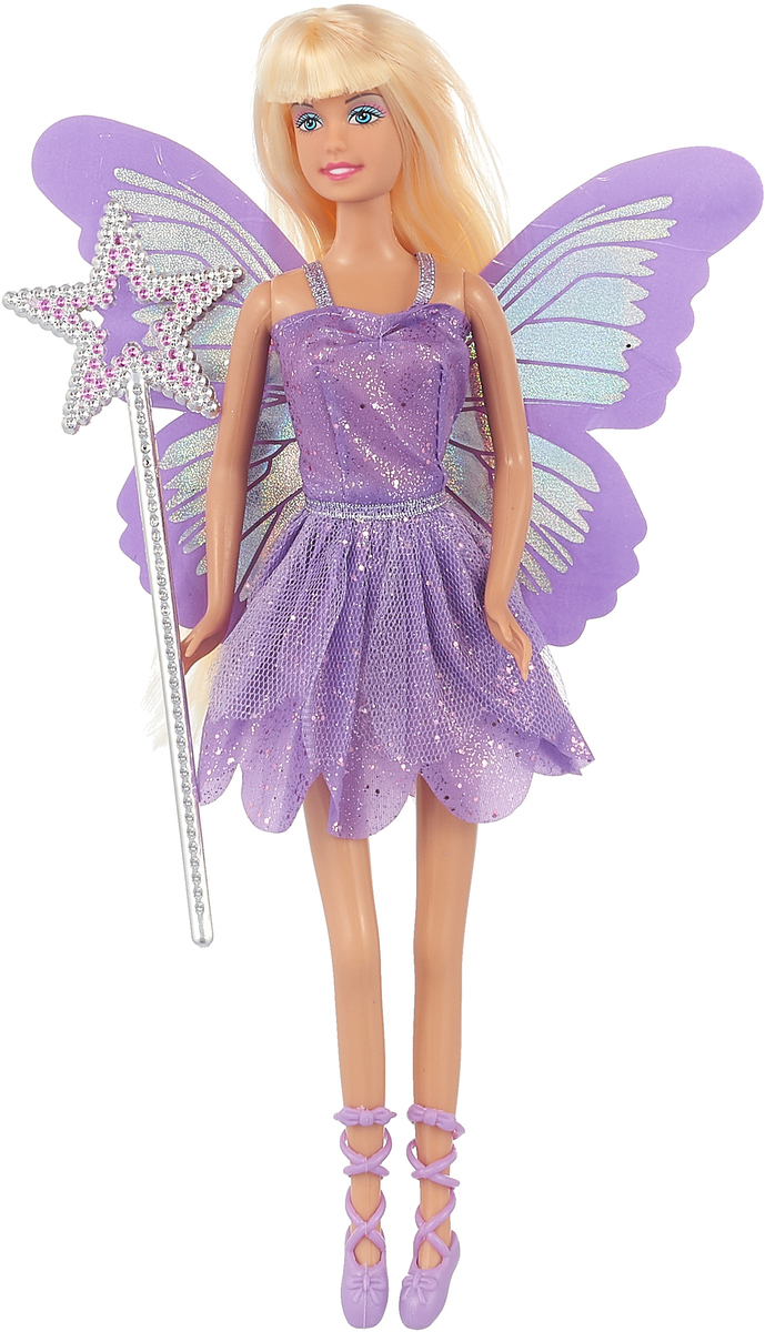 Defa Toys Кукла Бабочка-фея цвет сиреневый