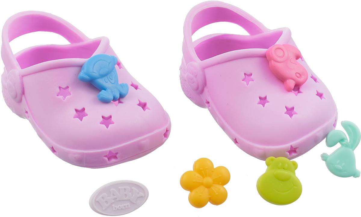 Zapf Creation Сандалии фантазийные для куклы BABY born цвет розовый new fashion pink boots shoes wear fit 43cm baby born zapf children best birthday gift n445