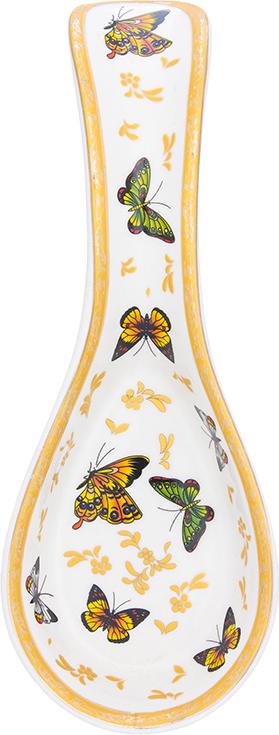 Подставка под ложку Elan Gallery Бабочки, 21 х 8 х 3 см.. 730455 кофейный набор elan gallery бабочки