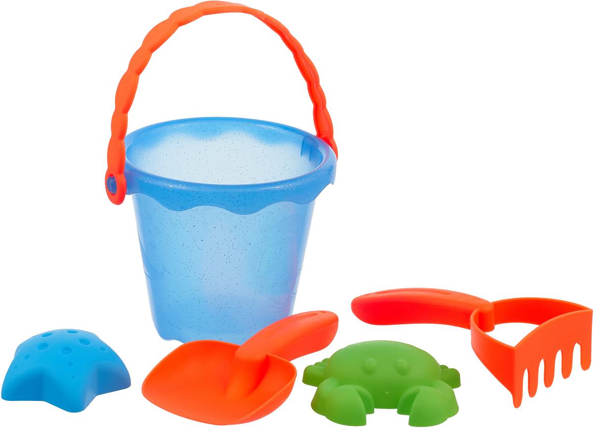 Fresh Trend Набор для песочницы 58498 цвет оранжевый голубой салатовый песочницы family элемент песочницы