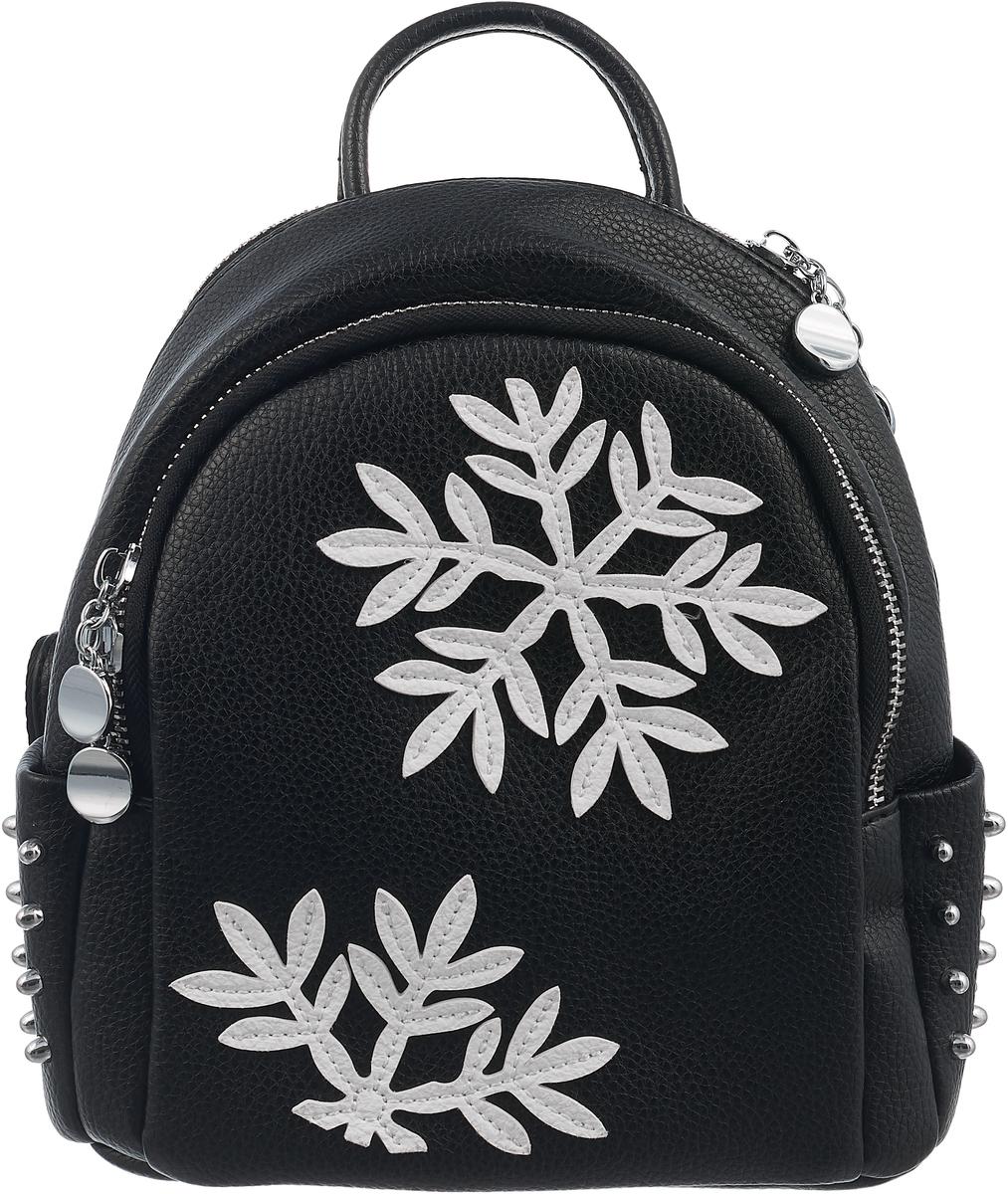 Рюкзак женский DDA, цвет: черный. DDA LB-2013BK
