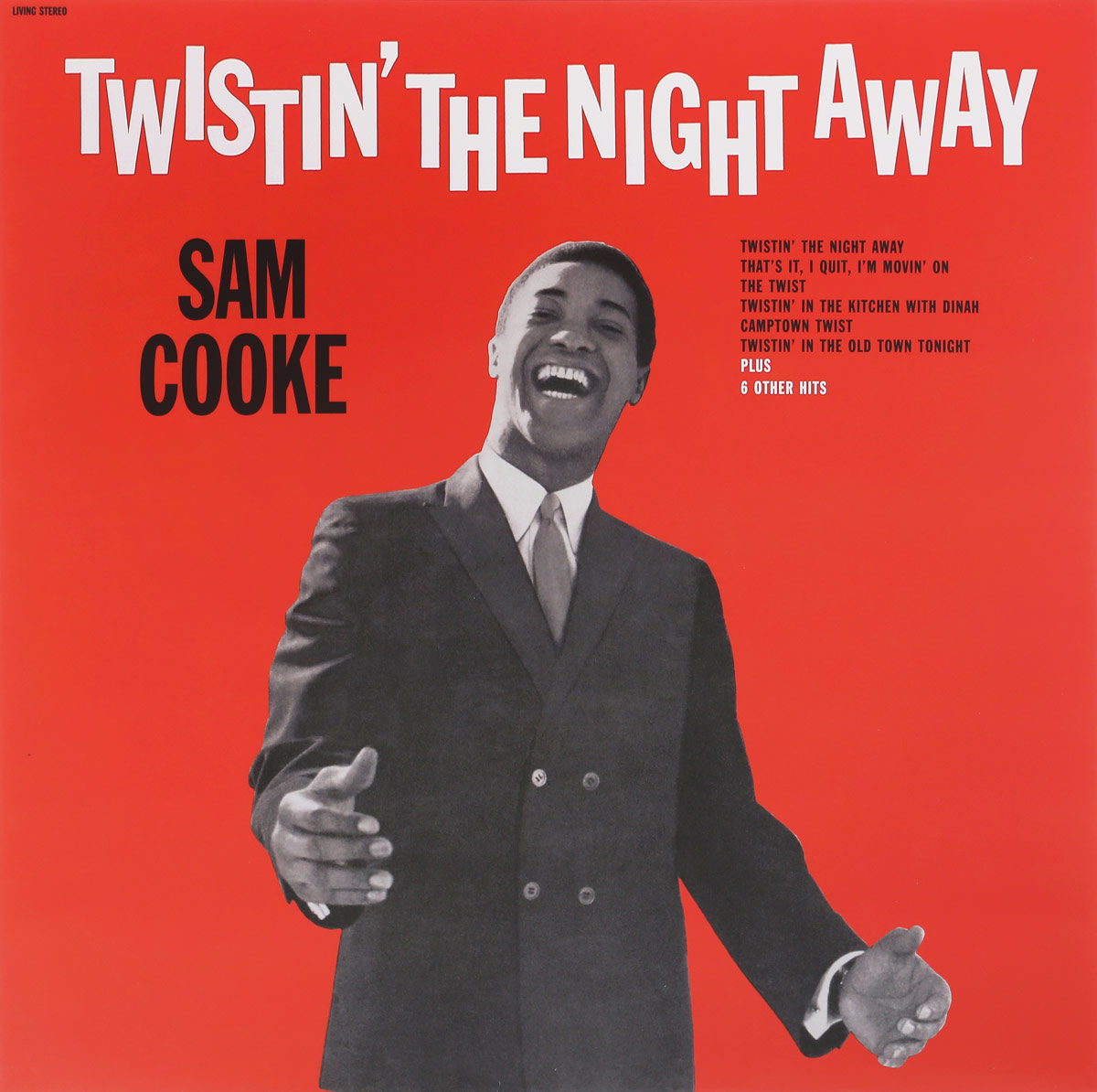 Сэм Кук Sam Cooke. Twistin' The Night Away (LP) sam cooke sam cooke twistin the night away