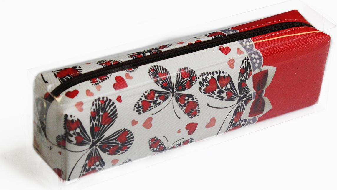 Calligrata Пенал школьный Бабочки 2873676