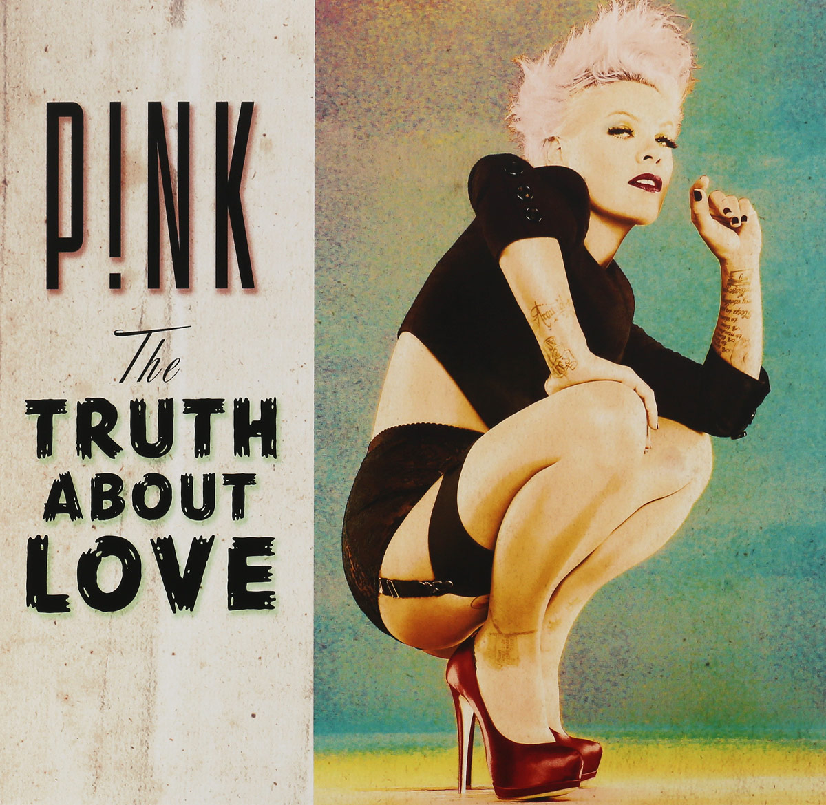 Pink Pink. The Truth About Love (2 LP) the lies about truth
