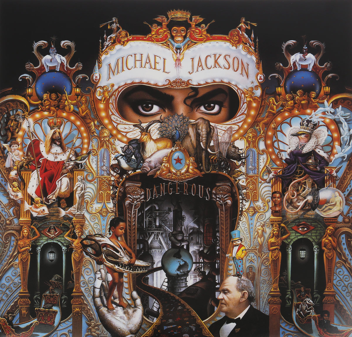 Майкл Джексон Michael Jackson. Dangerous (2 LP) сумматор dangerous music 2 bus