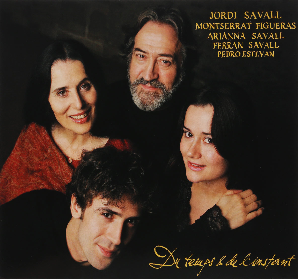 MONTSERRAT FIGUERAS, JORDI SAVALL, ARIANNA SAVALL, FERRAN SAVALL, PEDRO ESTEVAN. DU TEMPS & DE L'INSTANT (OF TIME AND NOW): WORKS BY ANONYMOUS, MARTIN CODAX, ORTIZ, MARAIS, MERULA ETC.. 1
