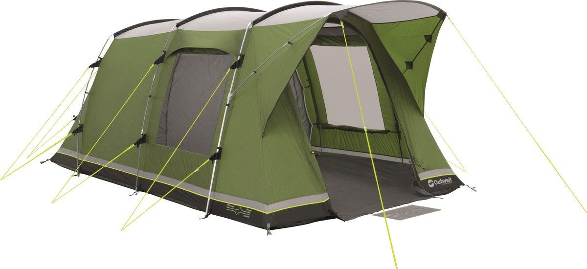 Палатка Outwell, 3-местная, цвет: зеленый. 110572 плед утепленный outwell constellation comforter цвет зеленый