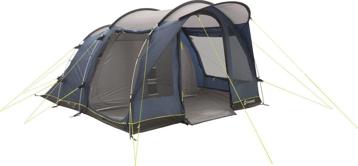 Палатка Outwell, 5-местная, цвет: синий, серый. 110774