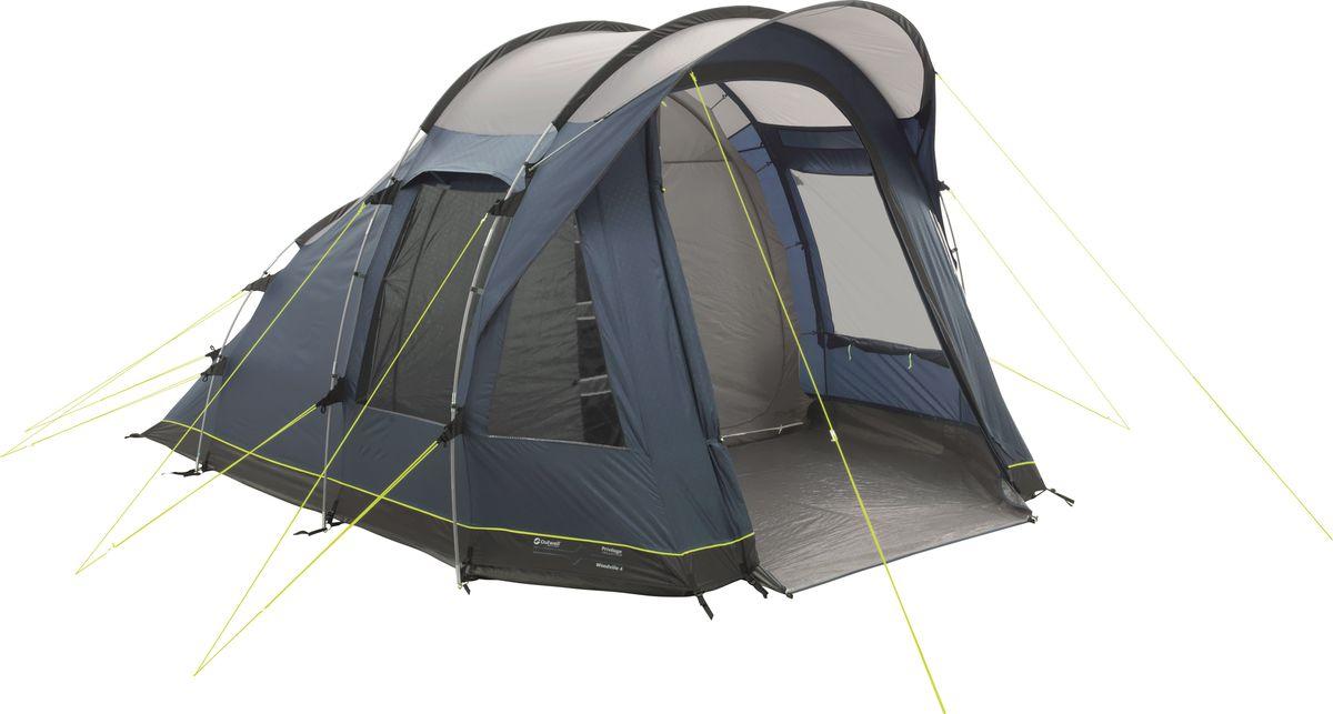 Палатка Outwell, 4-местная, цвет: синий, серый. 110778