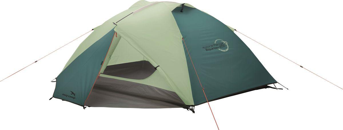 """Палатка """"Easy Camp"""", 2-местная, цвет: зеленый, серый. 120283"""