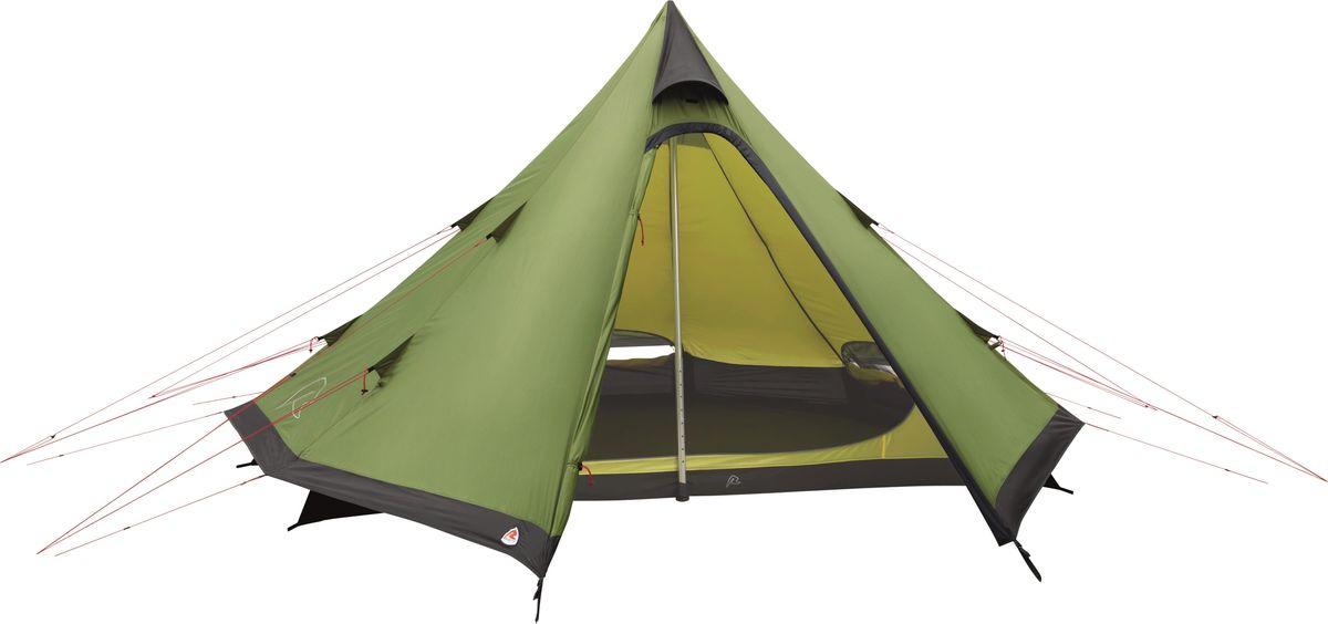 Палатка Robens, 4-местная, цвет: зеленый. 130156