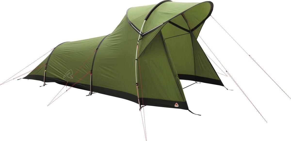 Палатка Robens, 3-местная, цвет: зеленый. 130184
