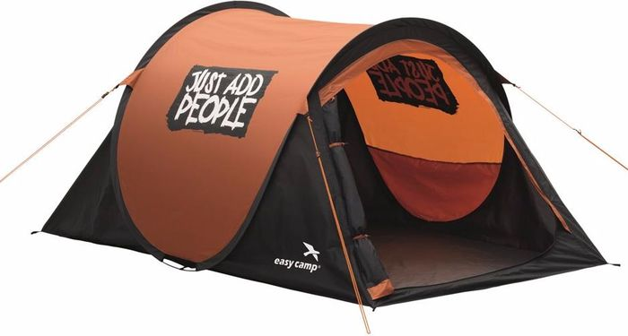 Палатка Easy Camp, 2-местная, цвет: красный. 120174