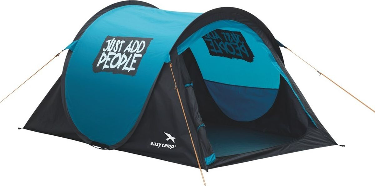 Палатка Easy Camp, 2-местная, цвет: синий. 120176
