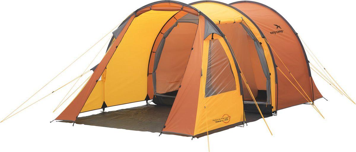Палатка Easy Camp, 2-местная, цвет: оранжевый. 120189