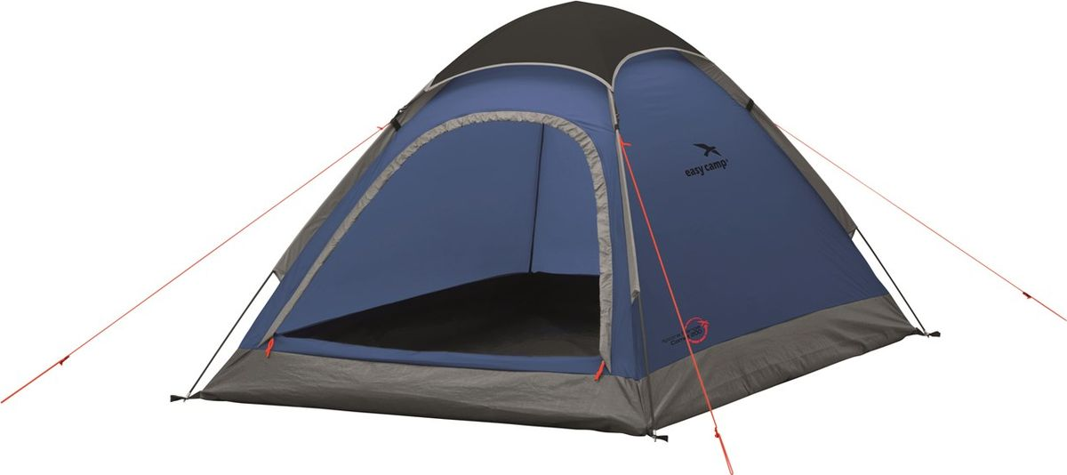 Палатка Easy Camp, 2-местная, цвет: синий. 120224