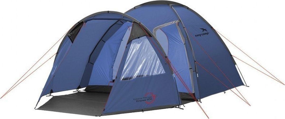 Палатка Easy Camp, 5-местная, цвет: синий. 120230 палатка sol camp 3 цвет синий slt 007 06