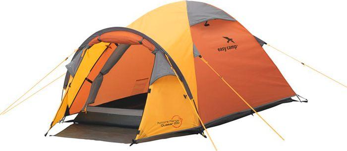 Палатка Easy Camp, 2-местная, цвет: оранжевый. 120192 палатка sol camp 4 blue slt 022 06