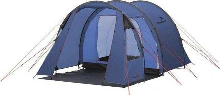 Палатка Easy Camp, 3-местная, цвет: синий. 120235 палатка sol camp 3 цвет синий slt 007 06