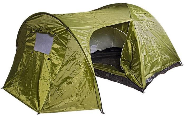 Палатка трехместная Boyscout, с тамбуром, двухслойная