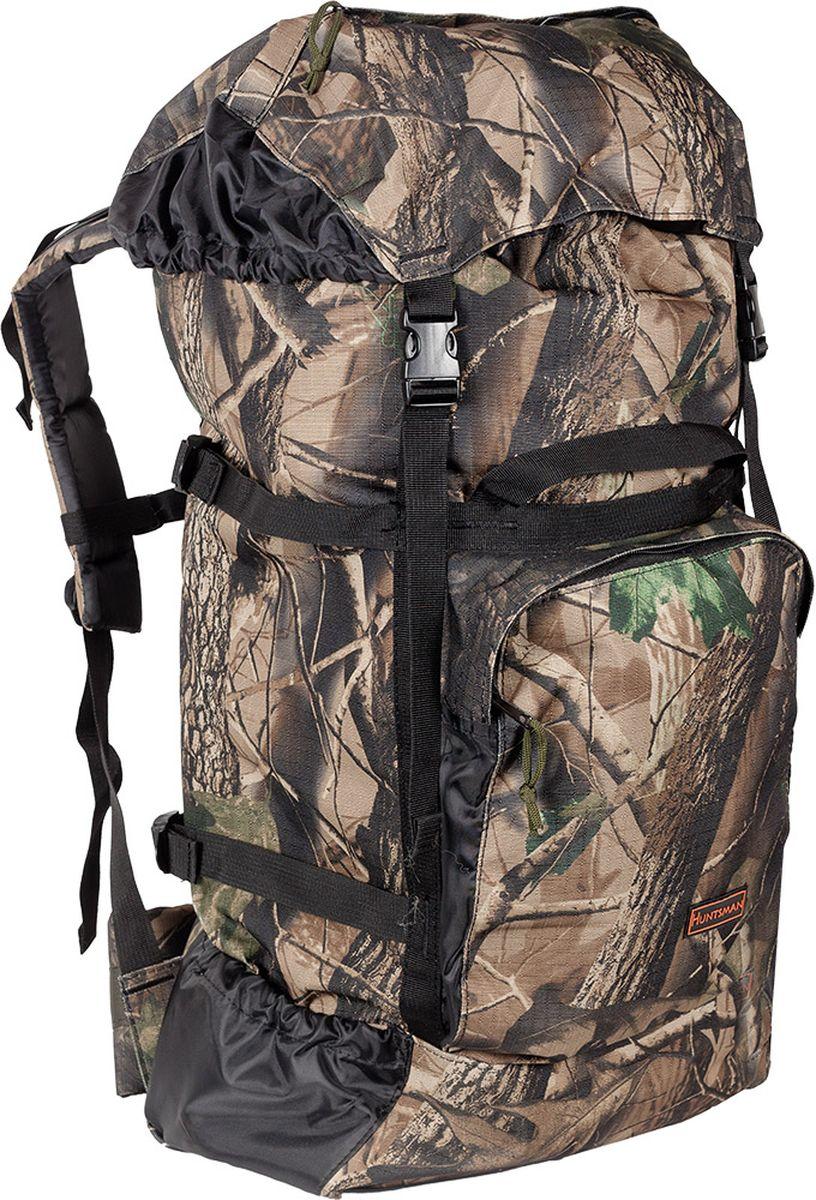 """Очень легкий и компактный рюкзак Huntsman """"Кодар"""" отлично подойдет для охотников, рыболовов, грибников и дачников.Особенности рюкзака:Непромокаемое дно.Корпус усилен стропами с боковыми стяжками.Регулируемые лямки и спинка уплотнены вспененным полиэтиленом.Верх рюкзака стягивается шнуром с фиксатором и закрывается клапаном с двумя защелками."""