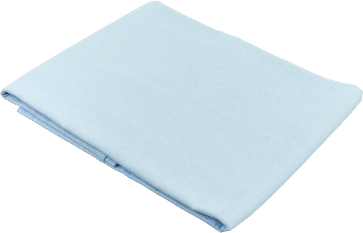 """Скатерть """"Гаврилов-Ямский Лен"""", цвет: голубой, 150 x 180 см. 1со-19"""