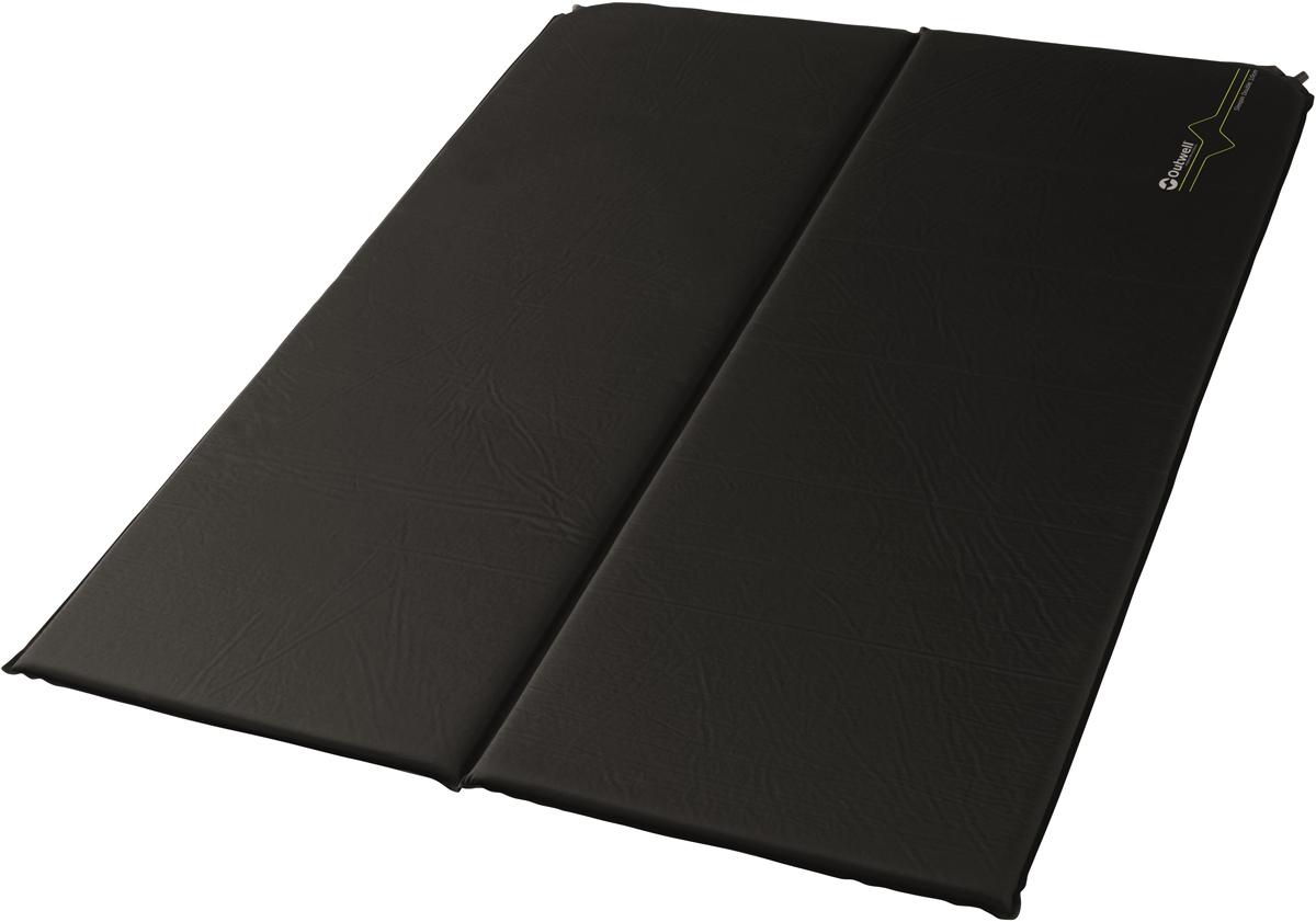 Коврик самонадувающийся Outwell Sleepin Double, 183 х 128 х 3 см коврик самонадувающийся talberg forest light mat цвет зеленый коричневый черный 183 х 51 см