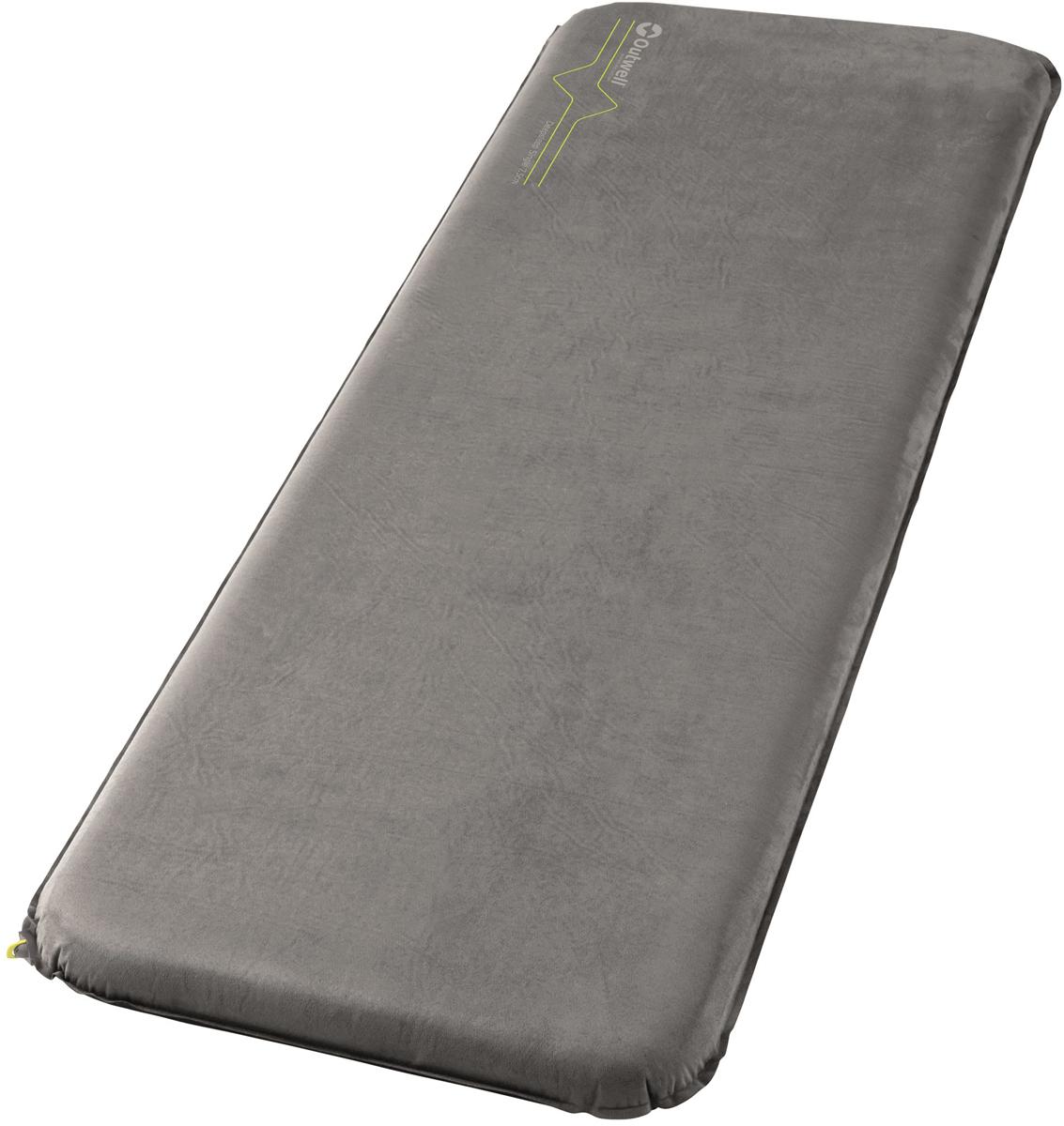 Коврик самонадувающийся Outwell Deepsleep Single, 195 х 63 х 7,5 см коврик самонадувающийся outwell dreamcatcher single 195 х 63 х 7 5 см