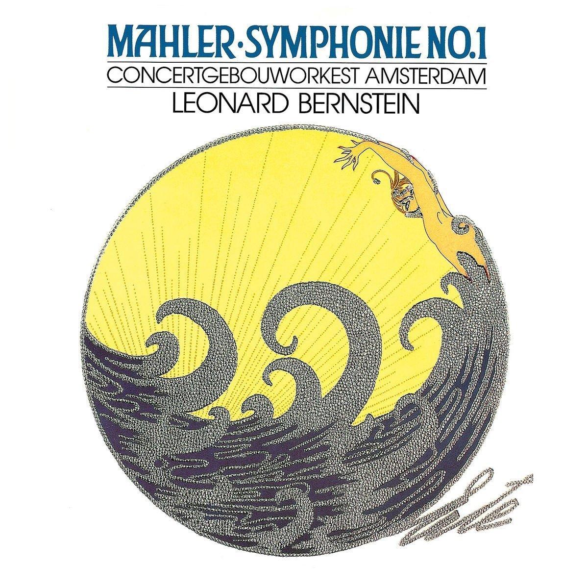Леонард Бернштейн Leonard Bernstein. Mahler: Symphony No.1 (LP) mahler leonard bernstein symponies nos 9 & 10 das lied von der erde 2 dvd page 2