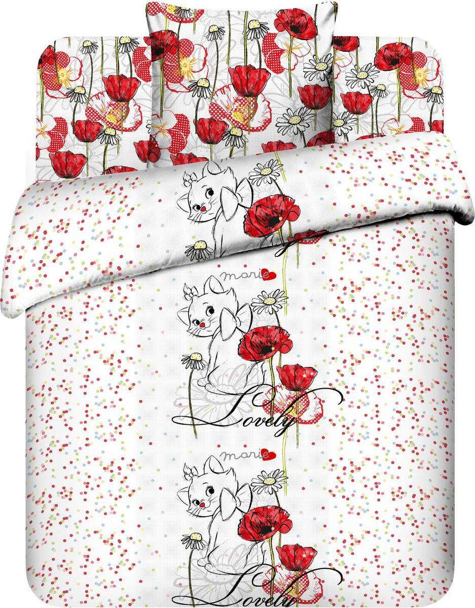 Комплект белья Василек Очаровательная Мари, 1,5 спальное, наволочки 70x70. 145945
