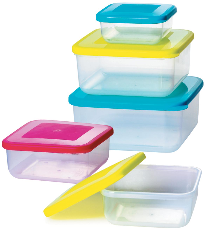 Набор контейнеров Bohmann, цвет: разноцветный, 5 предметов