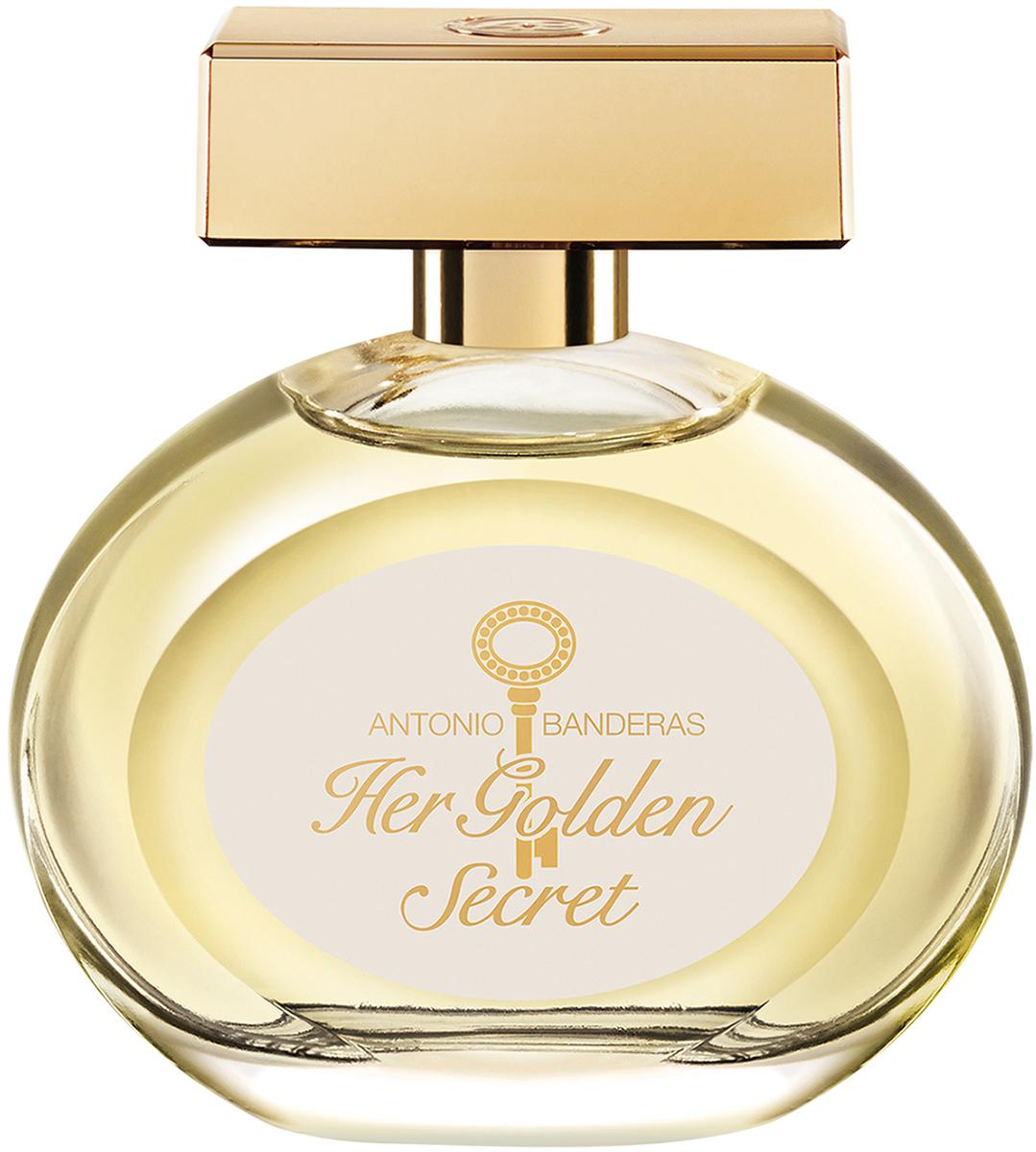 Antonio Banderas Туалетная вода Her Golden Secret, 50 мл