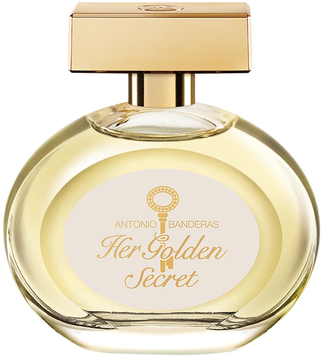 Antonio Banderas Туалетная вода Her Golden Secret, 80 мл