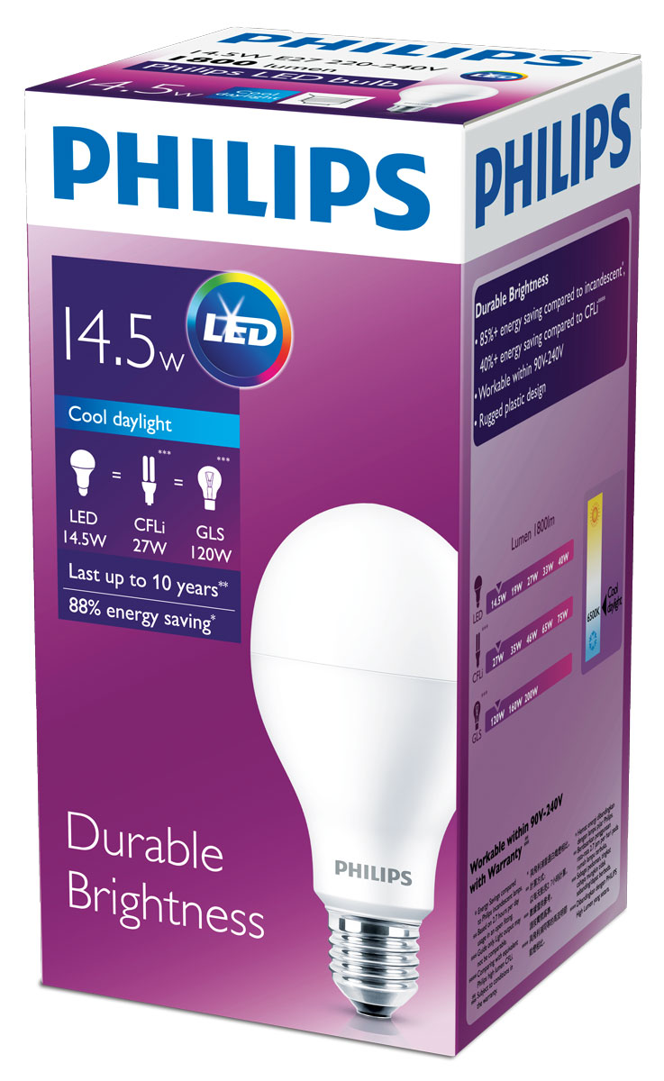 """Светодиодные лампы Philips излучают приятный свет комфортный для ваших глаз, отличаются невероятно долгим сроком службы и позволяют экономить электроэнергию с первого дня использования.Комфортное освещение PhilipsСо светодиодными лампами Philips вы можете быть уверены, что освещение будет комфортным. Наши светодиодные лампы тестируются в лаборатории и дают свет, который не напрягает глаза.Все лампы проходят лабораторные испытания и безопасны для глаз. Компанией Philips разработаны """"критерии комфорта"""", они гарантируют, что каждая светодиодная лампа соответствует стандартам освещения.Взрослые и дети все больше времени проводят в помещении с искуственным освещением. Позаботьтесь о том, чтобы домашнее освещение было безопасным и комфортным. Выбирайте светодиодные лампы Philips."""