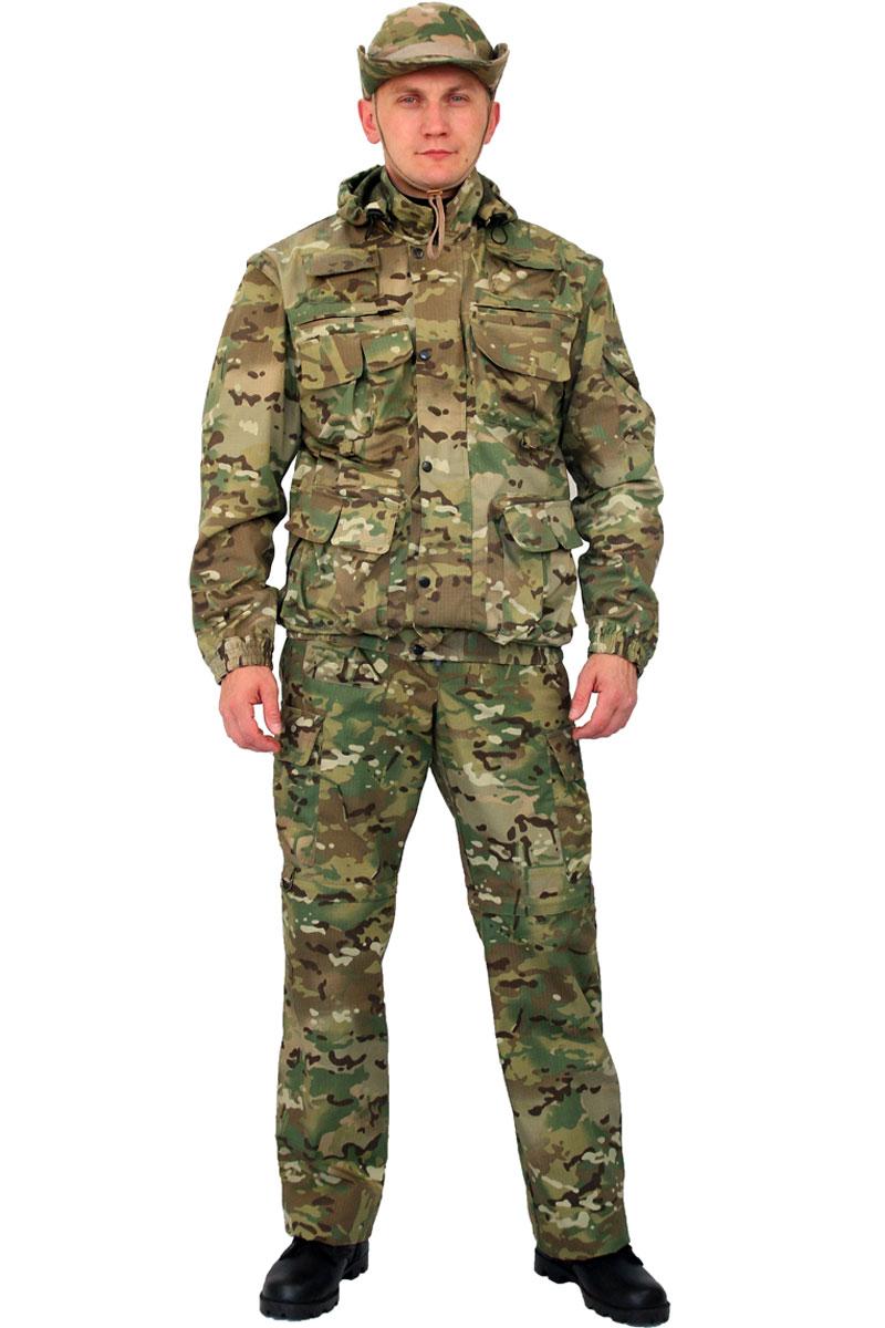 Костюм мужской URSUS Gerkon Commando Transform: куртка, брюки, цвет: разноцветный. КОС402-К48. Размер 60/62-182/188