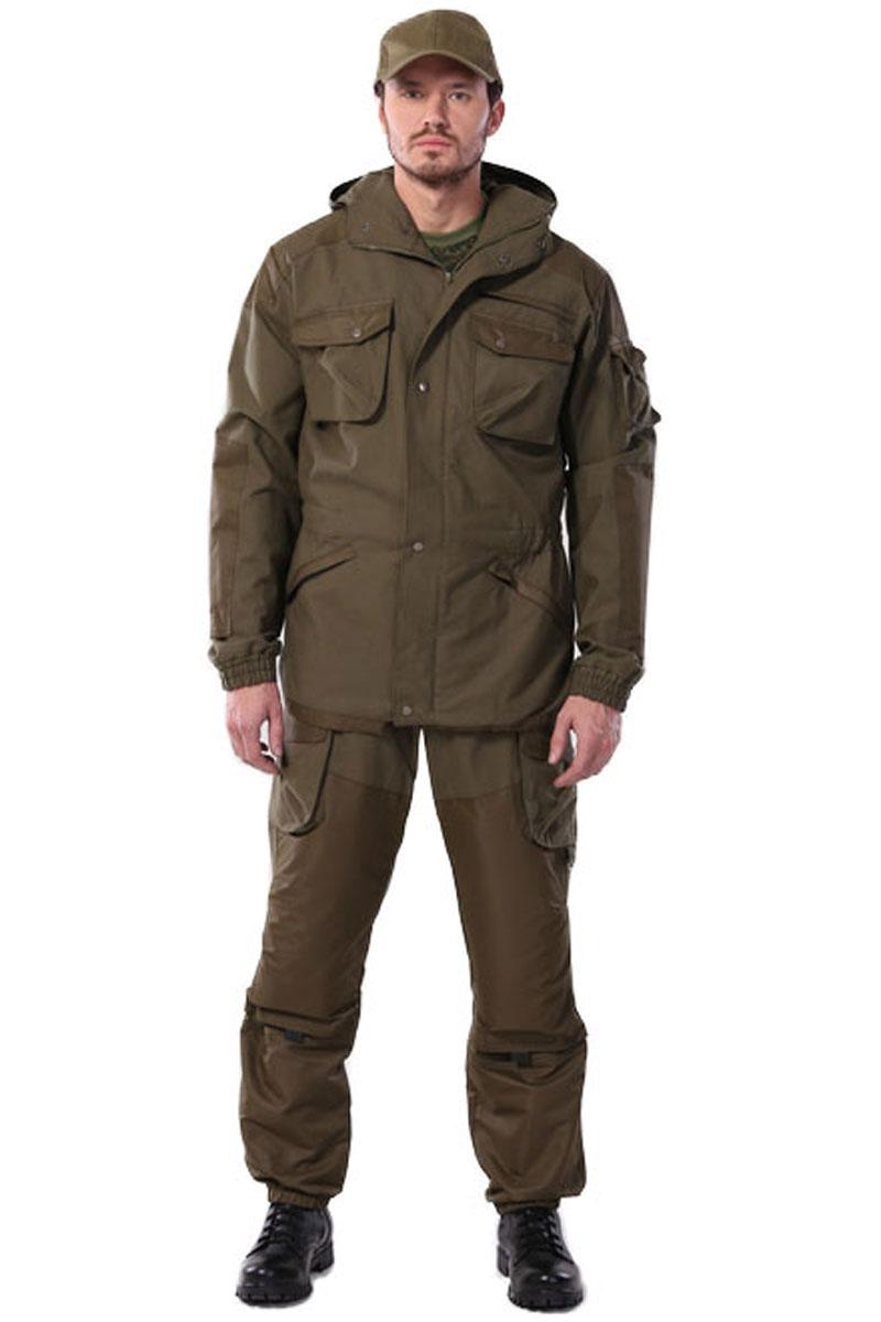 Костюм мужской URSUS Gerkon Tibet: куртка, брюки, цвет: хаки. КОС404-380. Размер 60/62-182/188