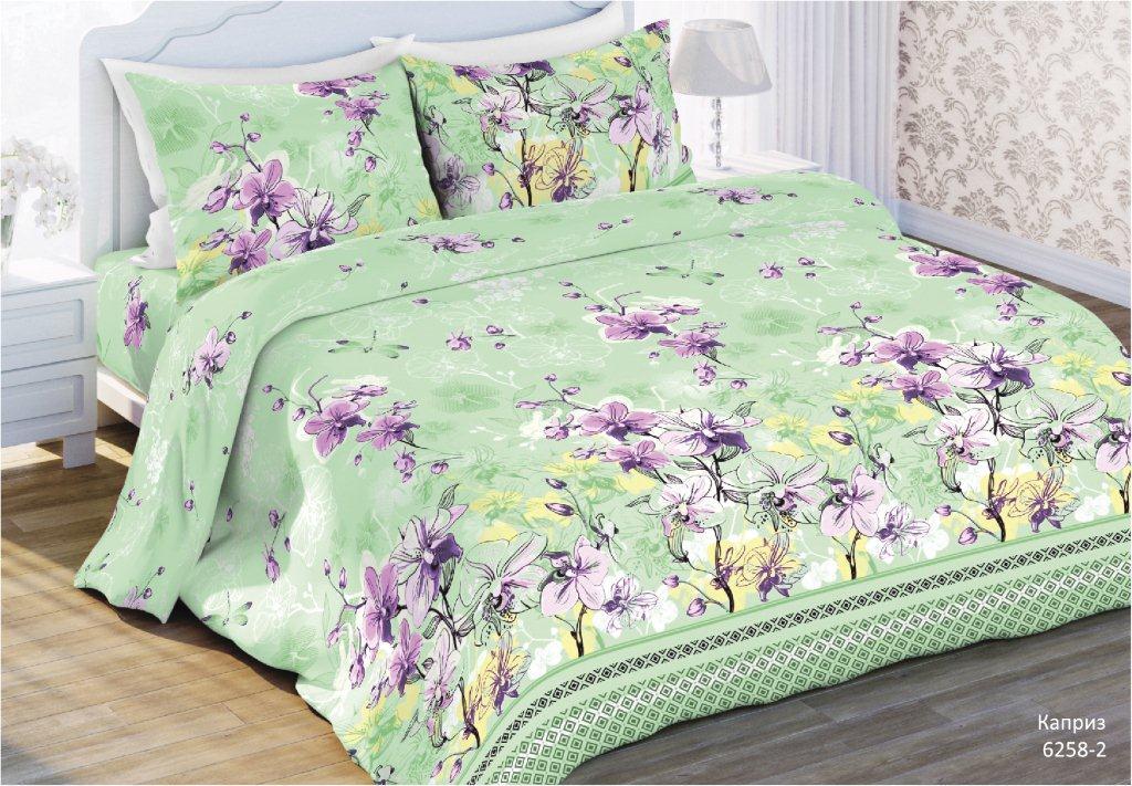 Комплект постельного белья Любимый дом Каприз, 2-х спальное, наволочка 70 x 70 любимый дом любимый дом кпб солнечный мак 2 спал