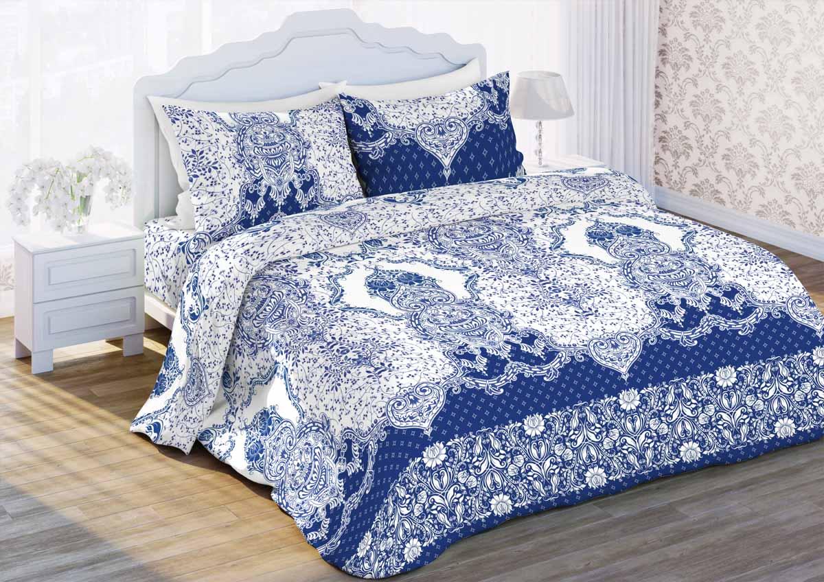 Комплект белья Любимый дом Вальс, 1,5-спальный, наволочки 70x70 любимый дом бязь гладиолусы