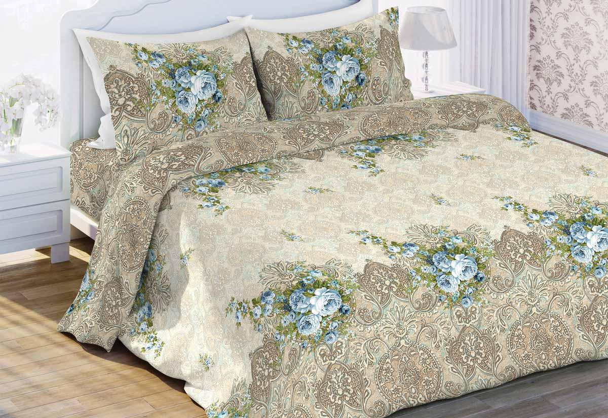 """Комплект постельного белья """"Любимый дом"""" является экологически безопасным для всей семьи, так как выполнен из бязи (100% хлопка). Комплект состоит из пододеяльника, простыни и двух наволочек. Постельное белье оформлено оригинальным рисунком и имеет изысканный внешний вид. Бязь - это ткань полотняного переплетения, изготовленная из экологически чистого и натурального хлопка. Она прочная, мягкая, обладает низкой сминаемостью, легко стирается и хорошо гладится. Бязь прекрасно пропускает воздух и за ней легко ухаживать.Приобретая комплект постельного белья """"Любимый дом"""", вы можете быть уверены в том, что покупка доставит вам и вашим близким удовольствие и подарит максимальный комфорт."""