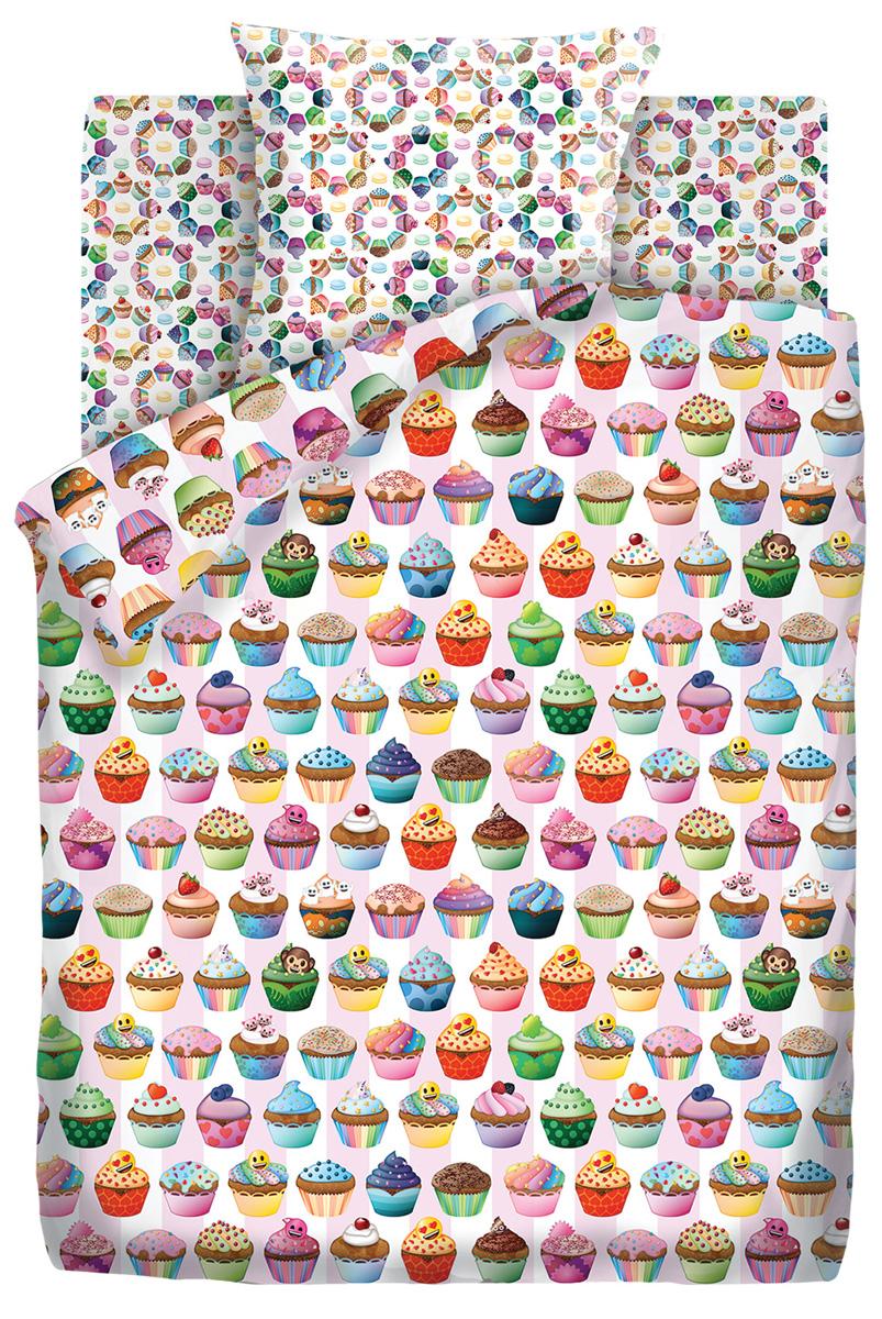 Комплект постельного белья детский Emoji