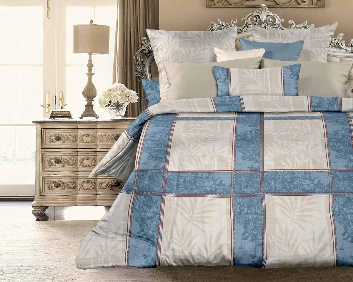 Комплект белья Унисон Кортес, 2-спальный, наволочки 70x70