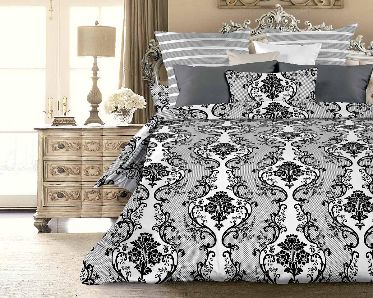 Комплект белья Унисон Ритц, 1,5-спальный, наволочки 70x70