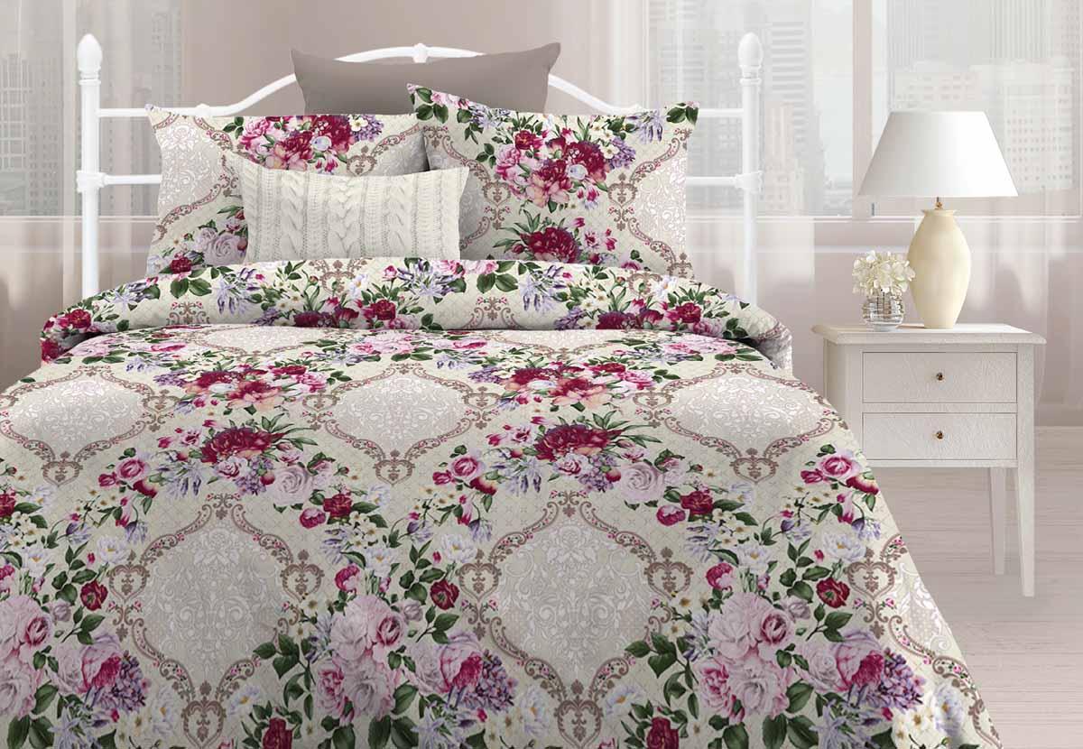 Комплект белья Любимый дом Моника, 1,5-спальный, наволочки 70x70 любимый дом бязь гладиолусы