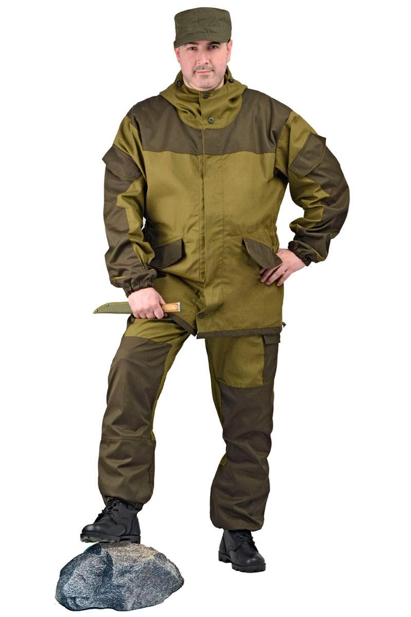 Костюм мужской URSUS Горка 3: куртка, брюки, цвет: хаки. КОС288-270. Размер 48/50-170/176