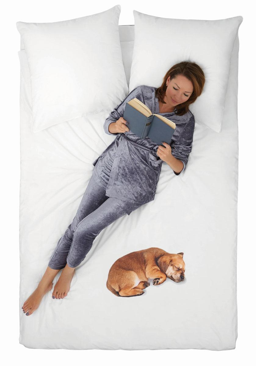 """Комплект белья 4YOU """"Dog"""", 2-спальный, наволочки 50x70"""